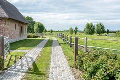 Stone Driveway, Driveway Design, Driveway Landscaping, Country Landscaping, Gardening For Beginners, Gardening Tips, Back Gardens, Outdoor Gardens, Easy Garden