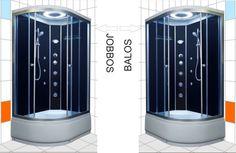 Brill D1202 aszimmetrikus zuhanykabin BALOS