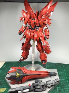 "1/100 Sinanju Ver.ka code name ""Red Fury"