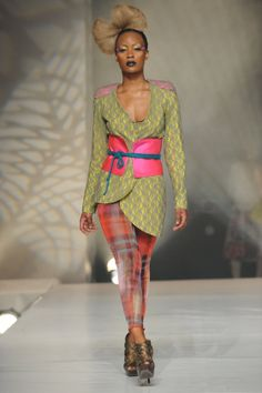 Salah Barka at Tunis Fashion Week