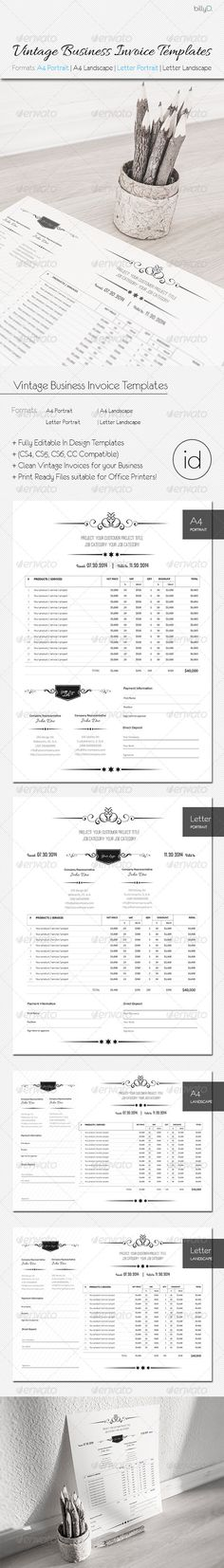 Business Invoice Template #businessinvoice Download   - invoice for business