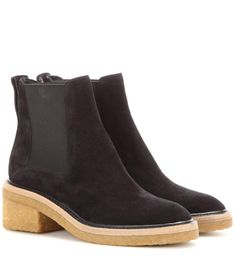 DRIES VAN NOTEN Suede Ankle Boots. #driesvannoten #shoes #boots