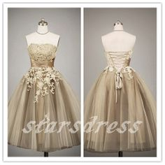 Little White Dresses Short Beach Wedding Dresses by starsdress, $139.99