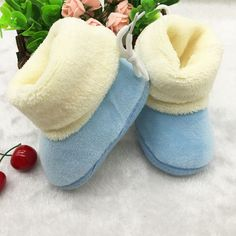 1.8$  Watch here - Boys Girls First Plush First Walkers Toddler Infant Bebe Sapatos Prewalker Boots Soft Baby Shoes R1204   #buyonline