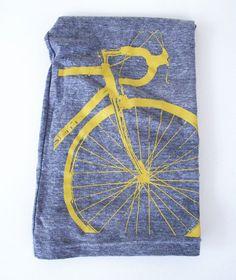 Road Bike Tshirt Men's by Boomerang360 on Etsy, $25.00
