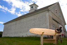 Shaping a Grain Surfboard
