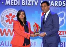 Mrs. ASHVINI DANIGOND received the World Medical Council - Medi BizTV Awards 2014, for the category 'Excellence Awards for Organization - Medical Software'.