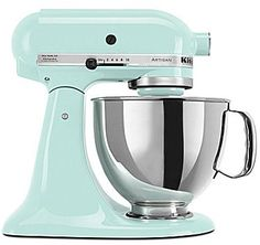 pale turqouise, aqua kitchenaid #kitchen #pastel