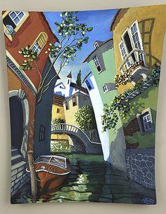 Городской пейзаж Miguel Freitas (96 работ)