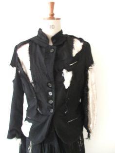 Elena Dawson Silver Rag Jacket