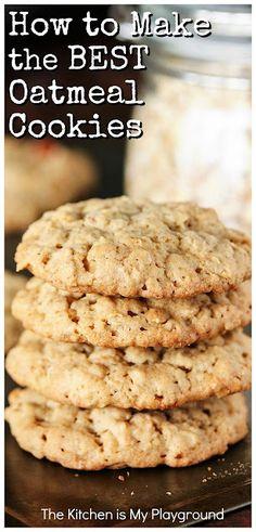 Healthy Oatmeal Cookies, Oatmeal Cookie Recipes, Oatmeal Cookies With Applesauce, Soft Chewy Oatmeal Cookies, Quick Oat Cookies, Easy To Make Cookies, Healthy Cookie Recipes, Raisin Cookies, Crack Crackers