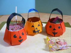 ハロウィンバッグ Halloween bag | 折り紙サロン - 楽天ブログ