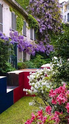 Giardini di corso Garibaldi Foto di Mara Zerga #milanodavedere Milano da Vedere