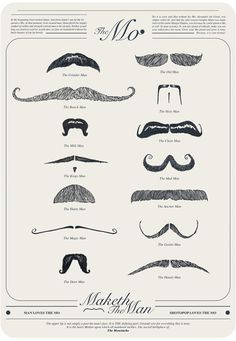 Creative Review - Mo props to all mo-ustache growing Movember fund raisers