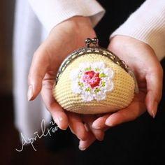캐스키드슨 코바늘 동전지갑 #cathkidstoncrochetflower #crochet# flower pattern by @suregal27