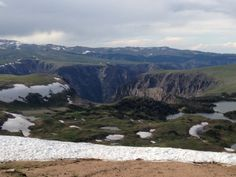 COLD ON TOP OF BEARTOOTH