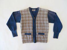 Vintage 1930s Sweater / 1930s Cardigan Wool by 4birdsvintage