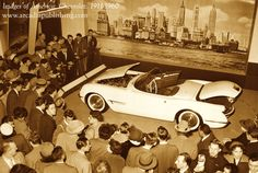 On This Day in History, January 17 1953: A prototype Chevrolet Corvette sports car makes its debut at General Motors' (GM) Motorama auto show at the Waldorf-Astoria Hotel in New York City.