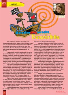 Despre Despartiri - Revista de liceu Teen Press - Omleta de Primavara http://www.teenpress.ro/articole/revista-teen-press-nr-54-omleta-de-primavara/