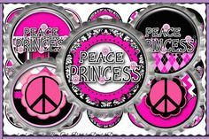 Peace Princess 228  INSTANT DIGITAL DOWNLOAD  1 Bottle by CapZone