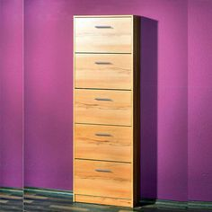 Ashley 5 Drawer Beech Shoe Cabinet Features : £69.95 shoe storage cabinet oak  #furnitureinfashionshoecabinet • Shoe cabinet, shoe storage with five shoe compartments  • Stylih shoe cabinet in beech finish front & frame  • Melamine surface provides the ultimate in protection against heat & scratches  • Exquisite solution to your storage requirements  • Quality furniture for an affordable price Dimensions: W58 x D17 x H169