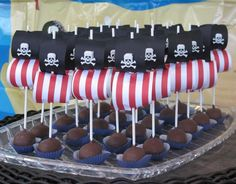 Pirate Ship Cake Pops                                                                                                                                                      More
