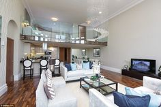 All flats boast period features, while the top-end £700,000 pads have huge mezzanines.Bob...