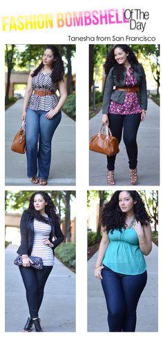 cuatro lindos estilos para salir