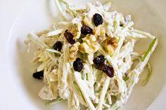 Klassieke waldorfsalade -