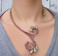 https://flic.kr/p/5jY7Sb | Green Kyanite, Green Sapphire & Copper