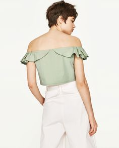TOP CROPPED VOLANTE