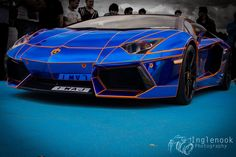 Blue Lamborghini Wallpapers Wide