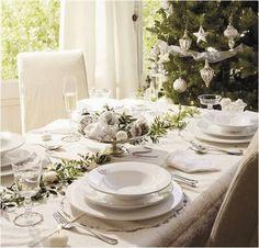 Inspirações para decoração da mesa de Natal!!