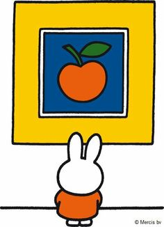 Today Miffy is visiting the gallery.