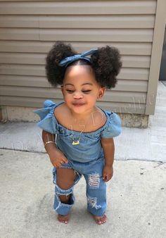Cute Mixed Babies, Cute Black Babies, Beautiful Black Babies, Brown Babies, Adorable Babies, Cute Kids Fashion, Baby Girl Fashion, Toddler Fashion, Black Kids Fashion
