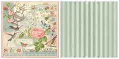 Our signature page from our new collection, Botanical Tea! In stores in early February #graphic45 #newcollections
