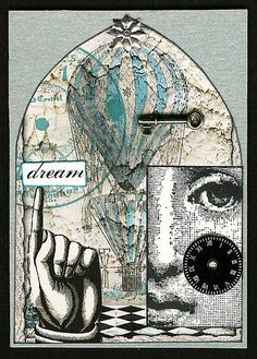 Gothic Arch ATC, Steampunk Dream, ~Traded~ | Flickr - Photo Sharing!