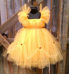 Cute Idea//  Cute twist on a Belle Dress for Disney