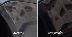 truco para quitar los arañazos del coche