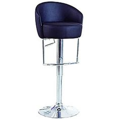 @Overstock - Stool has a versatile, modern design that will rejuvenate your home bar or kitchen decor Bar stool is constructed with a sturdy chromed steel frame Bar furniture has an easy-to-clean black leatherette seat and back http://www.overstock.com/Home-Garden/Bounce-Bar-Stool/4572983/product.html?CID=214117 $122.39