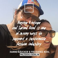 Fashion Quotes, Two Hands, Ethical Fashion, See Photo, Fasion, Revolution Quotes, Second Hand Clothes, Sustainable Fashion, Fashion