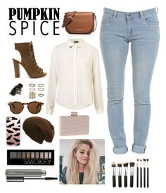 """""""Untitled #122"""" by its-me-spencer27 ❤ liked on Polyvore featuring Topshop, Miss Selfridge, Monki, Forever 21, MICHAEL Michael Kors, Casetify and MAC Cosmetics"""
