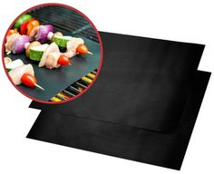 Buy Non-stick Barbecue Cooking Mat Reusable BBQ Baking Mats Sheet Foil Fry Liner Pad Party Wedding Tool Thick Grill Grates, Bbq Grill, Cooking Sheet, Weber Bbq, Gas Oven, Microwave Oven, Best Bbq, Bbq Tools, Bbq Party