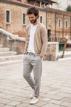 Mens Casual Suits, Stylish Mens Outfits, Casual Winter Outfits, Tall Men Fashion, New Mens Fashion, Mode Hipster, Pantalon Costume, Look Man, Best Dressed Man
