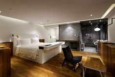 Contemporary Asian Elegance at Hotel Wind #Decor #japanese #hotel wind