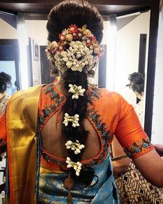 Soundarya Rajnikanth's Bridal Looks Are Perfect For Inspiring South Indian & Fusion Brides! Soundarya Rajnikanth's Bridal Looks Are Perfect For Inspiring South Indian & Fusion Brides! South Indian Wedding Hairstyles, South Indian Weddings, Indian Hairstyles, Bride Hairstyles, Saree Hairstyles, Hairstyles Haircuts, Wedding Looks, Bridal Looks, South Indian Bridal Jewellery