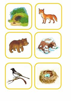 Animal Activities, Winter Activities, Crafts, Kids Education, Dressing Rooms, World Discovery, Day Care, Forest Animals, Learning