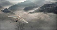 Las asombrosas fotografías aéreas desde un ala-delta de Matjaz Cater