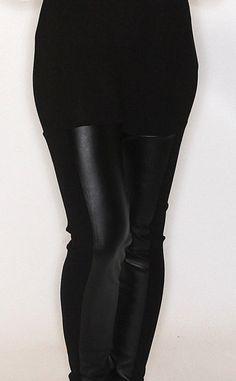 Riffraff   faux leather leggings