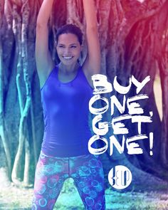 Buy One, Get One Free on #beup: Choose ANY two items, pay for one! Use code: B1G1 #fitness #inspiration #activewear #yogawear #FitnessFashion #Lifestyle #Fashion #store #fitspo #training #Getfit #yoga #run #fitnesswear #poledance #dance #crossfit #pilates #dancefitness #zumba #barre #cycling #spinning #moisturewicking #colorfast #fourwaystretch #stretchy #breathable #comfortable #holdsshape #blackfriday #discount #offer #buyonegetone